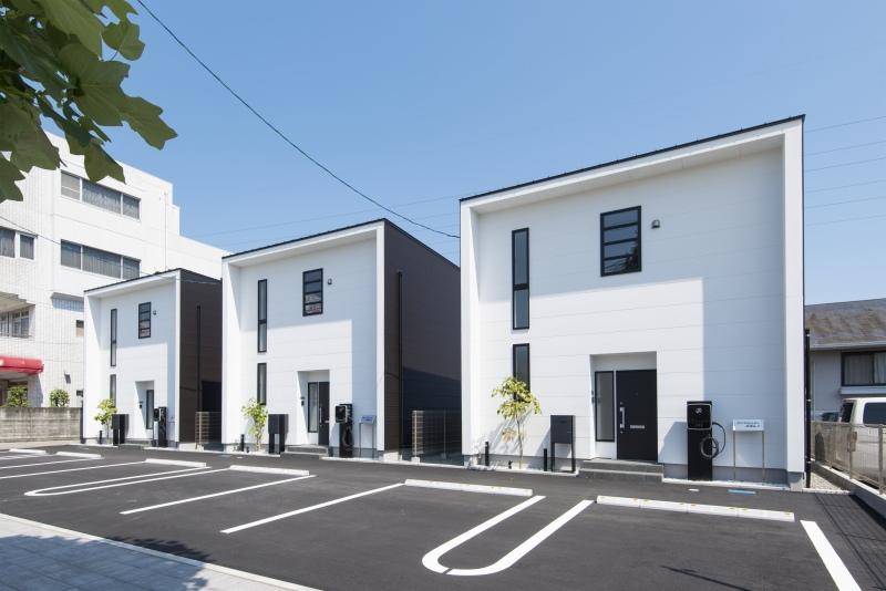 写真:新しい施工実績を追加いたしました<戸建賃貸住宅の新築工事>